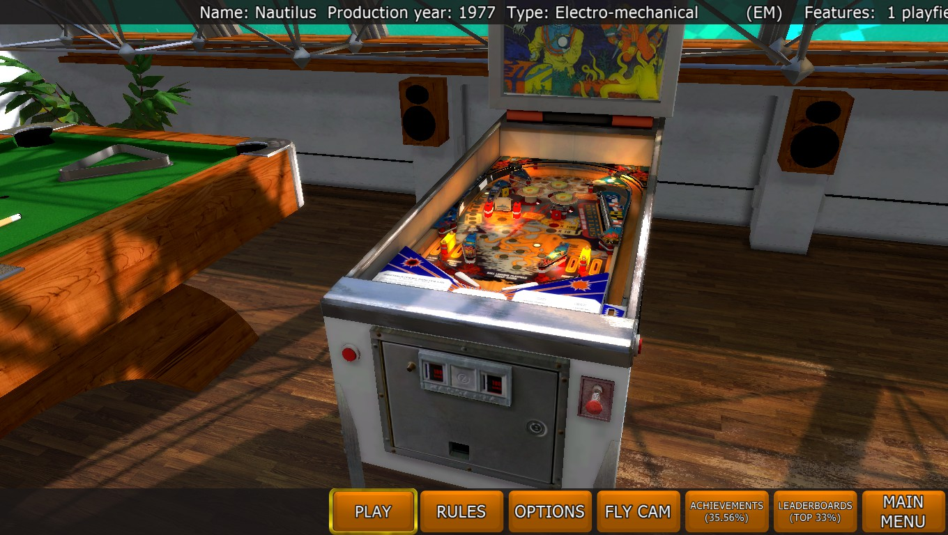 Mark: Zaccaria Pinball: Nautilus [5 balls] (PC) 15,792,750 points on 2018-04-24 01:29:04