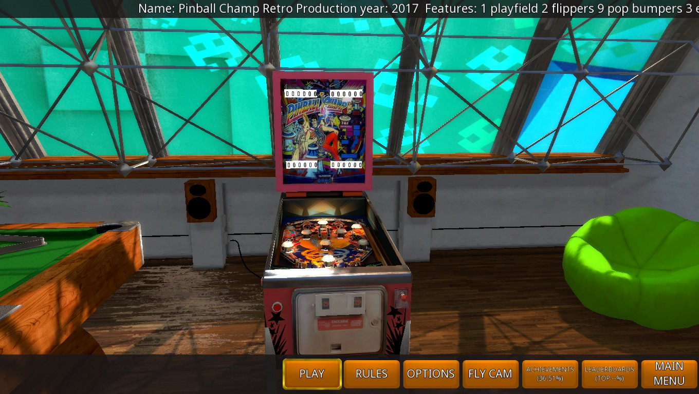 Mark: Zaccaria Pinball: Pinball Champ 2017 Retro Table [5 Balls] (PC) 28,710 points on 2018-05-19 02:55:12