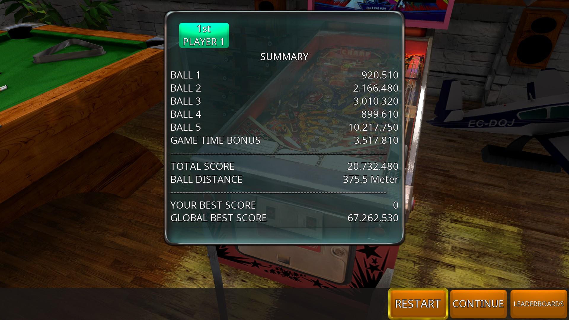 GTibel: Zaccaria Pinball: Pinball Champ