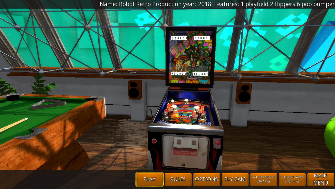 Mark: Zaccaria Pinball: Robot 2018 Retro Table [3 Balls] (PC) 3,130 points on 2018-05-21 01:05:07