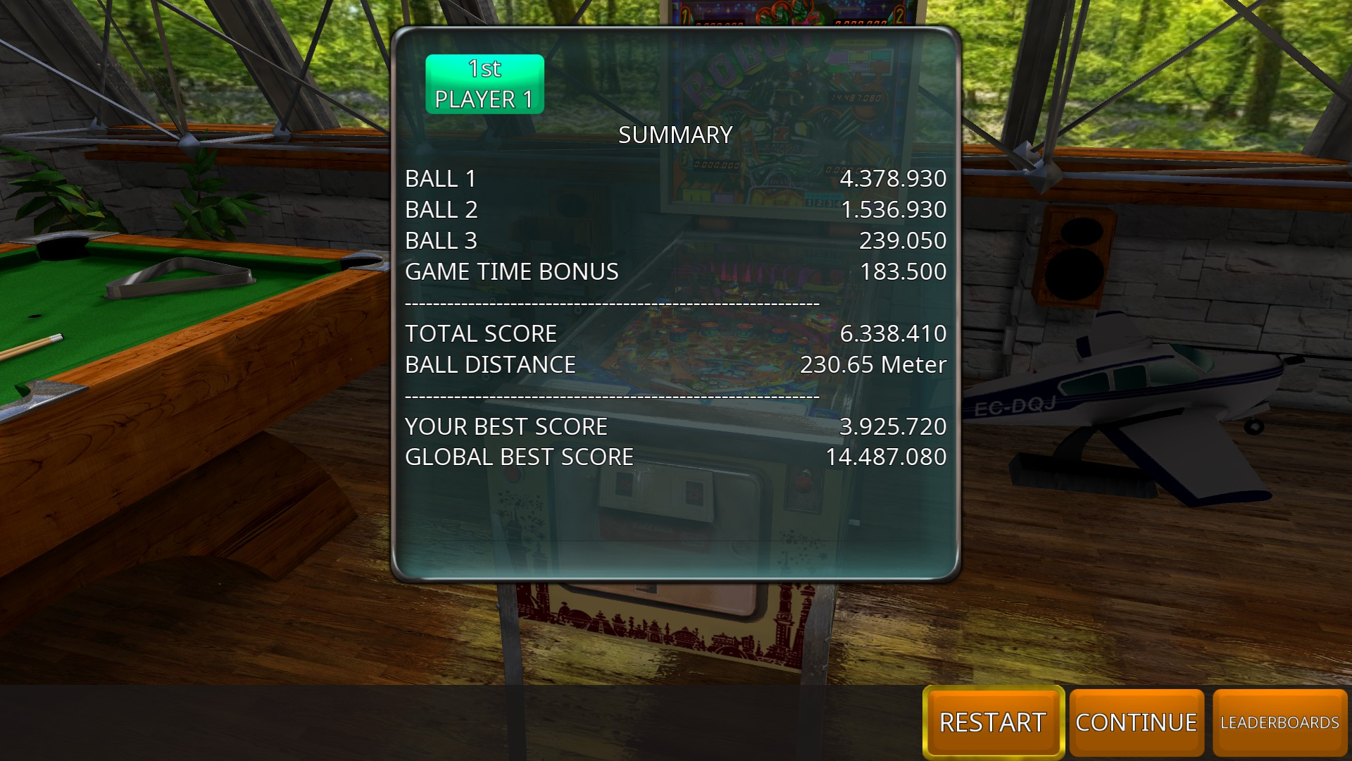 GTibel: Zaccaria Pinball: Robot [3 balls] (PC) 6,338,410 points on 2018-08-16 07:49:26