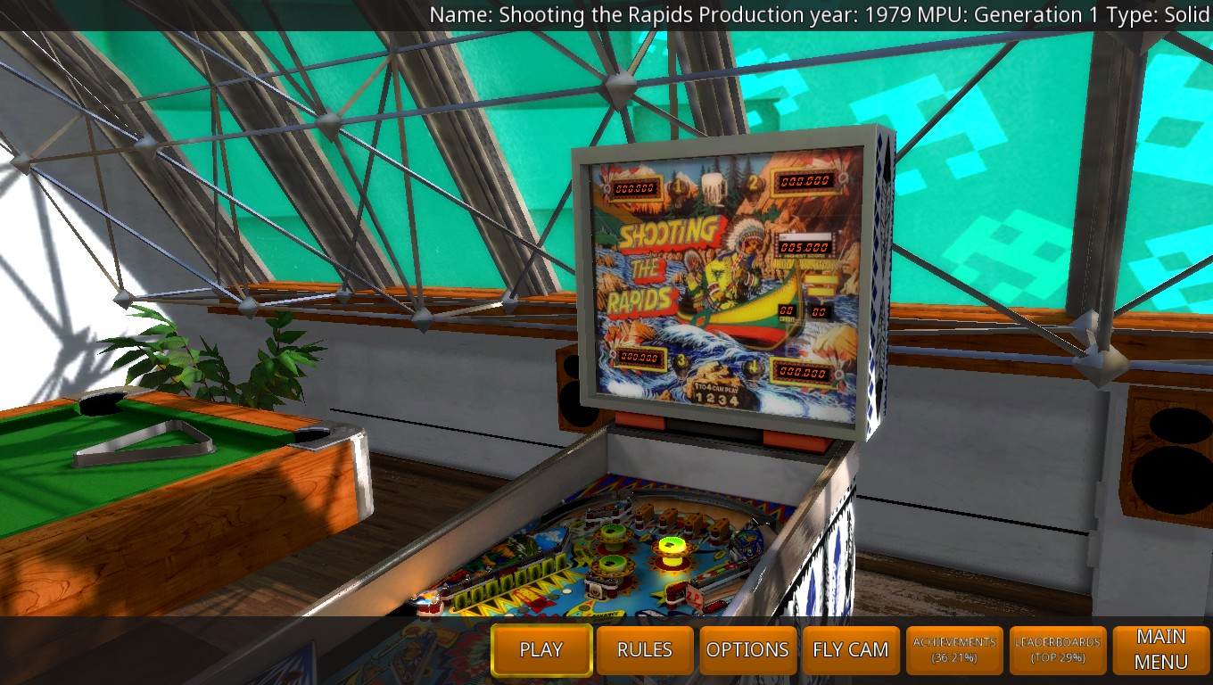 Mark: Zaccaria Pinball: Shooting the Rapids [3 balls] (PC) 1,083,900 points on 2018-05-18 03:26:25