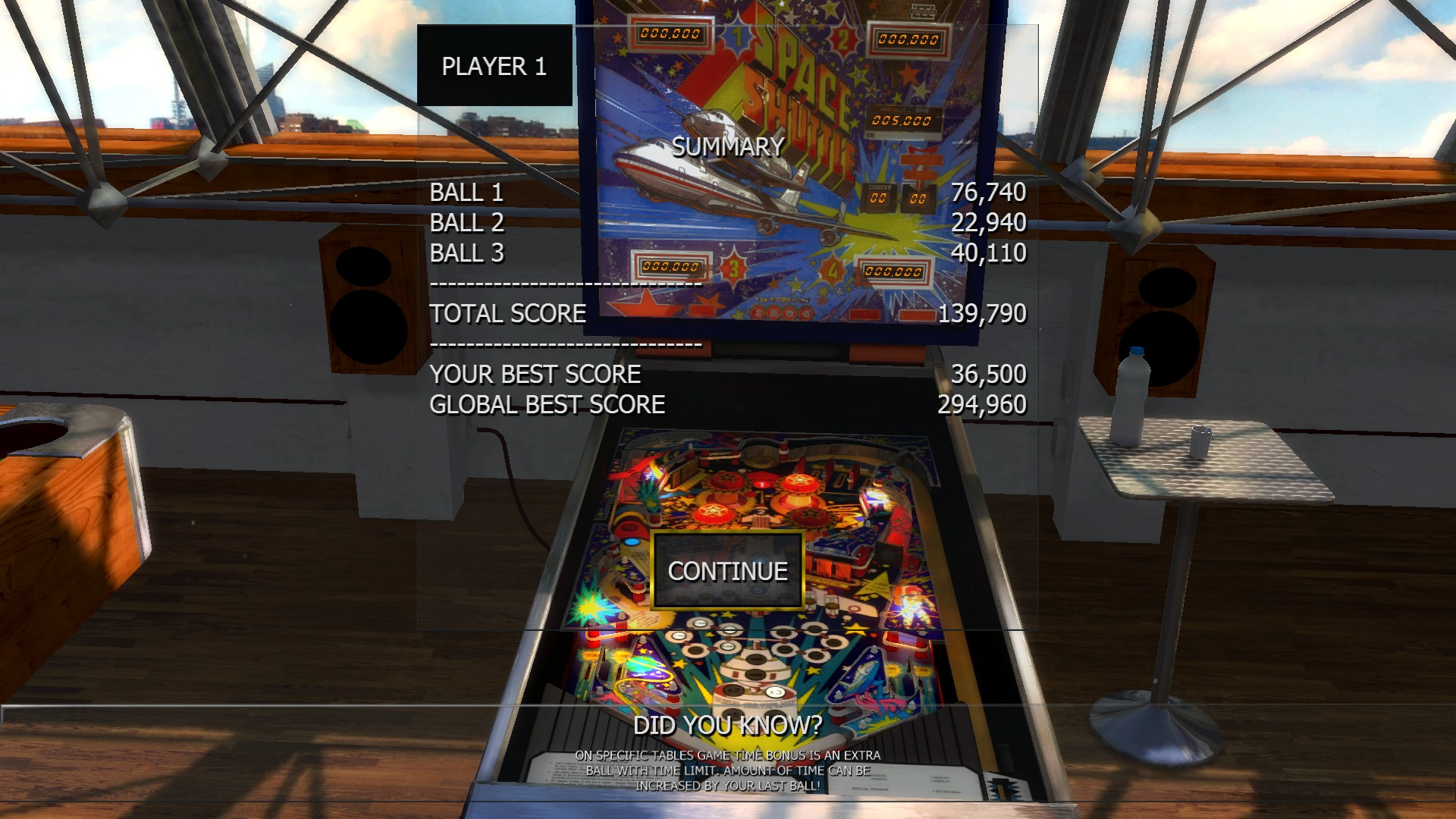 Mantalow: Zaccaria Pinball: Space Shuttle [3 balls] (PC) 139,790 points on 2016-06-18 03:27:12