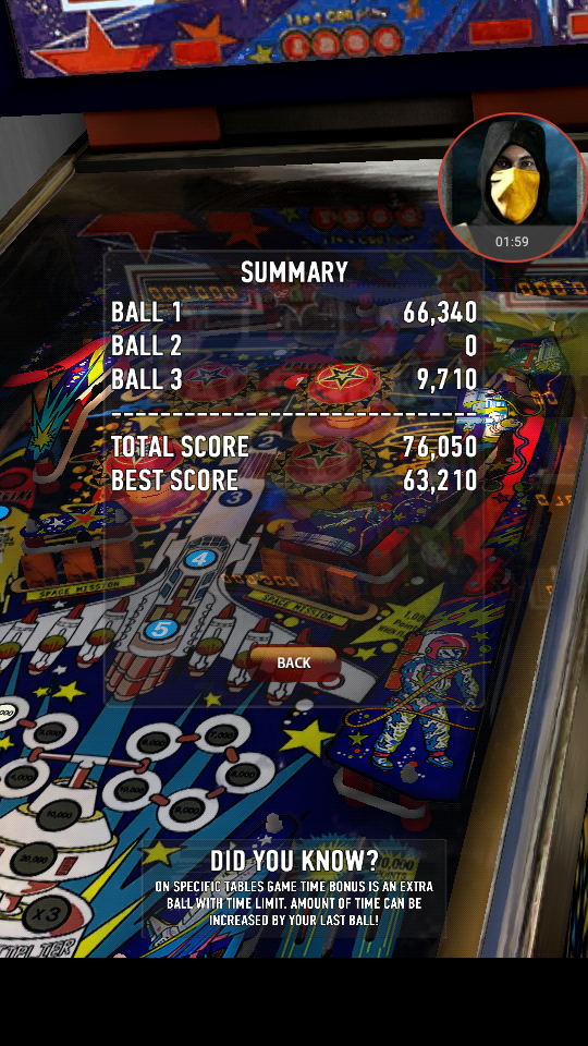 omargeddon: Zaccaria Pinball: Space Shuttle (Android) 76,050 points on 2018-04-02 23:28:37