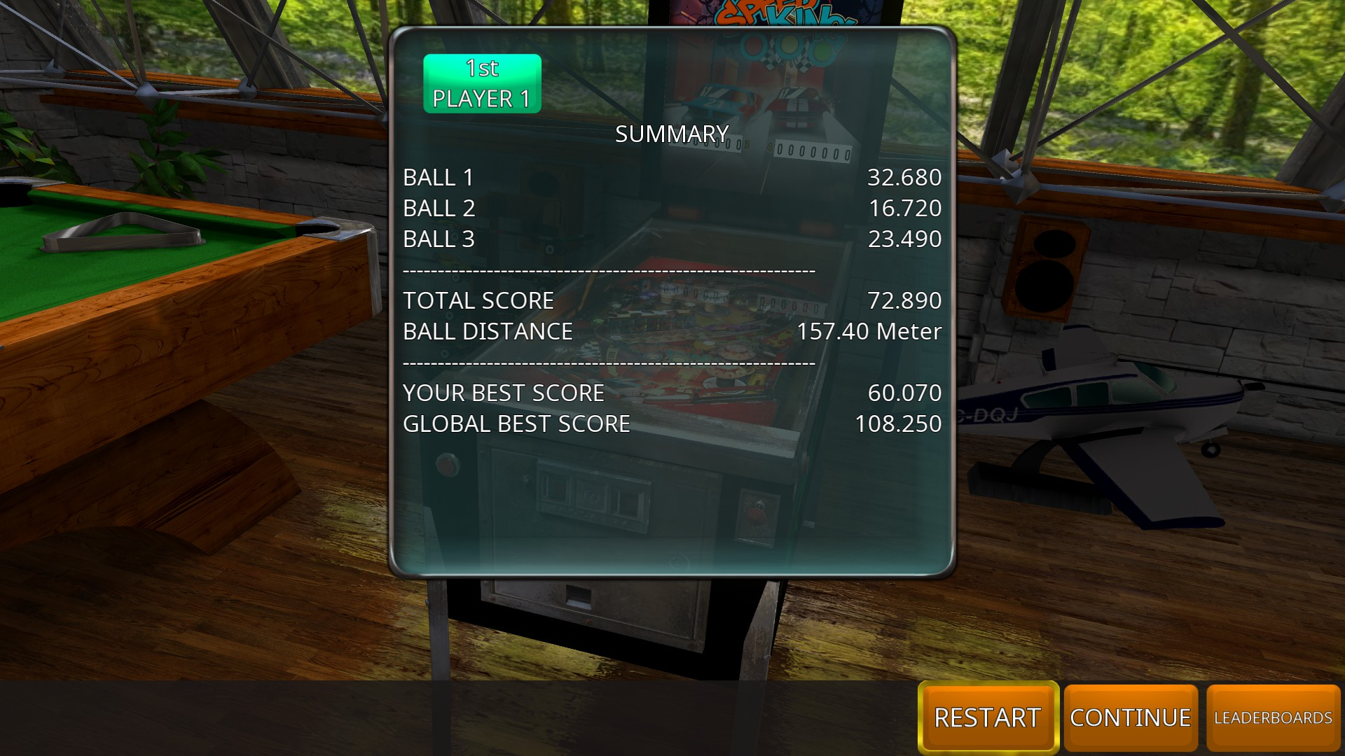 GTibel: Zaccaria Pinball: Speed King [3 balls] (PC) 72,890 points on 2018-08-29 07:03:57