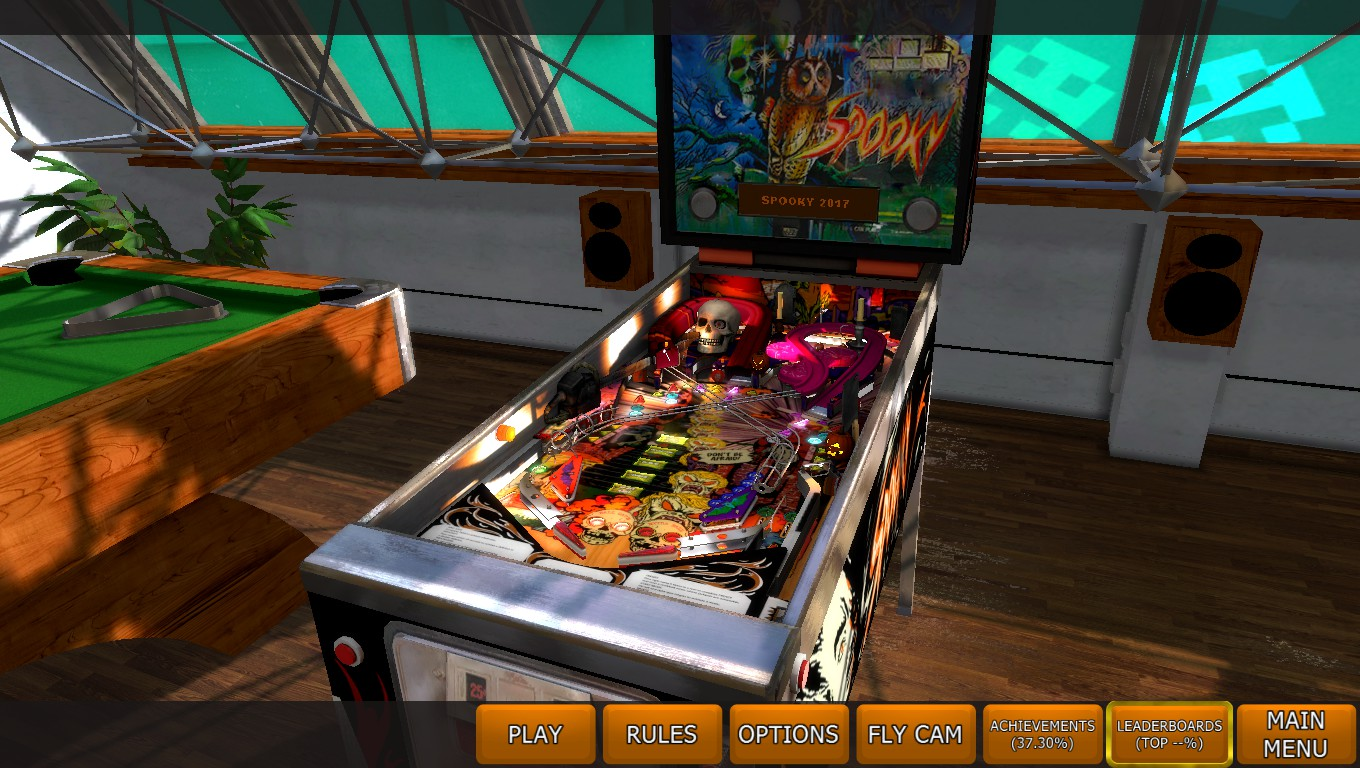 Mark: Zaccaria Pinball: Spooky 2017 [3 balls] (PC) 63,967,170 points on 2018-05-05 02:23:46