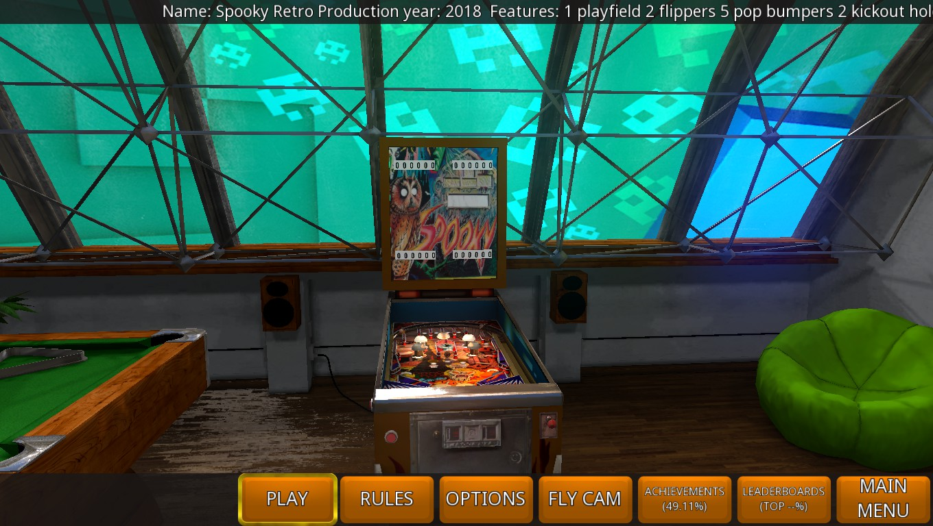 Mark: Zaccaria Pinball: Spooky 2018 Retro [5 Balls] (PC) 9,040 points on 2018-09-20 02:28:37