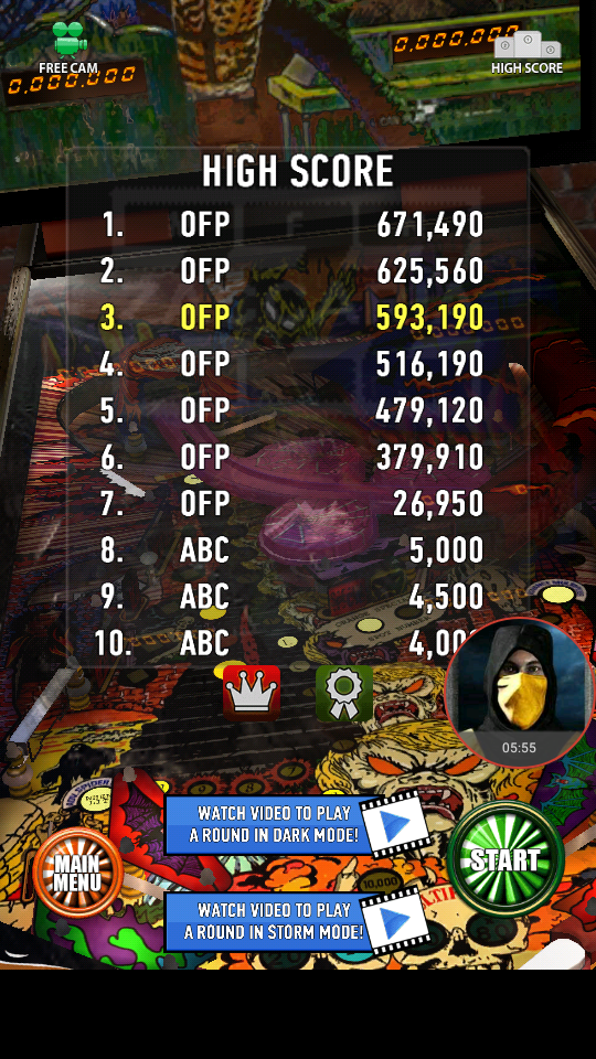 omargeddon: Zaccaria Pinball: Spooky (Android) 593,190 points on 2018-04-10 17:27:00