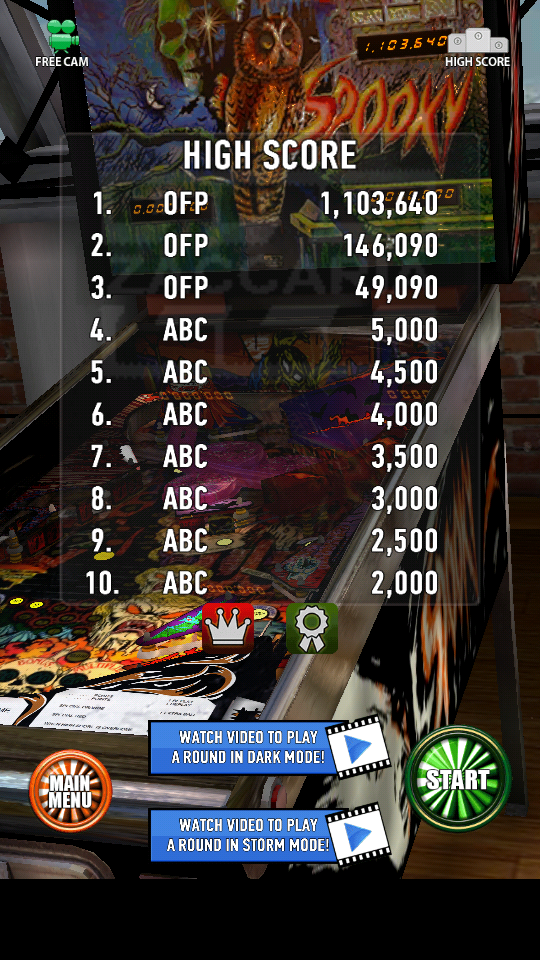 omargeddon: Zaccaria Pinball: Spooky (Android) 1,103,640 points on 2018-06-14 22:18:26