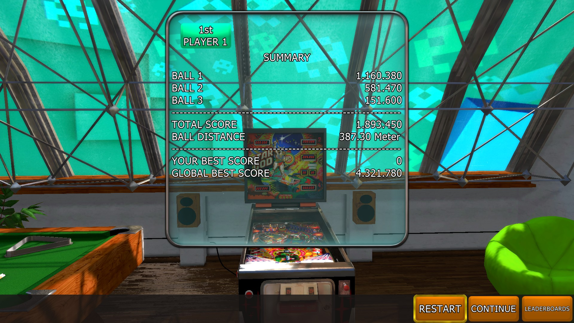 Johnny1981: Zaccaria Pinball: Star God [3 balls] (PC) 1,893,450 points on 2018-04-12 12:32:24