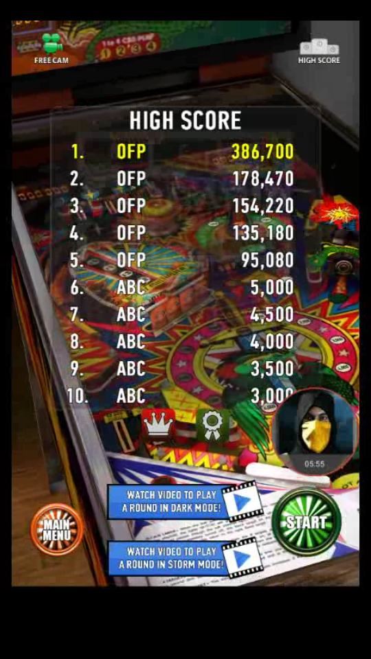 omargeddon: Zaccaria Pinball: Star God (Android) 386,700 points on 2018-04-03 11:28:23