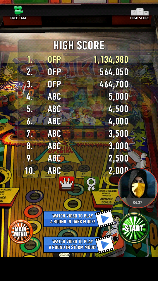 omargeddon: Zaccaria Pinball: Strike (Android) 1,134,380 points on 2018-04-04 00:15:52
