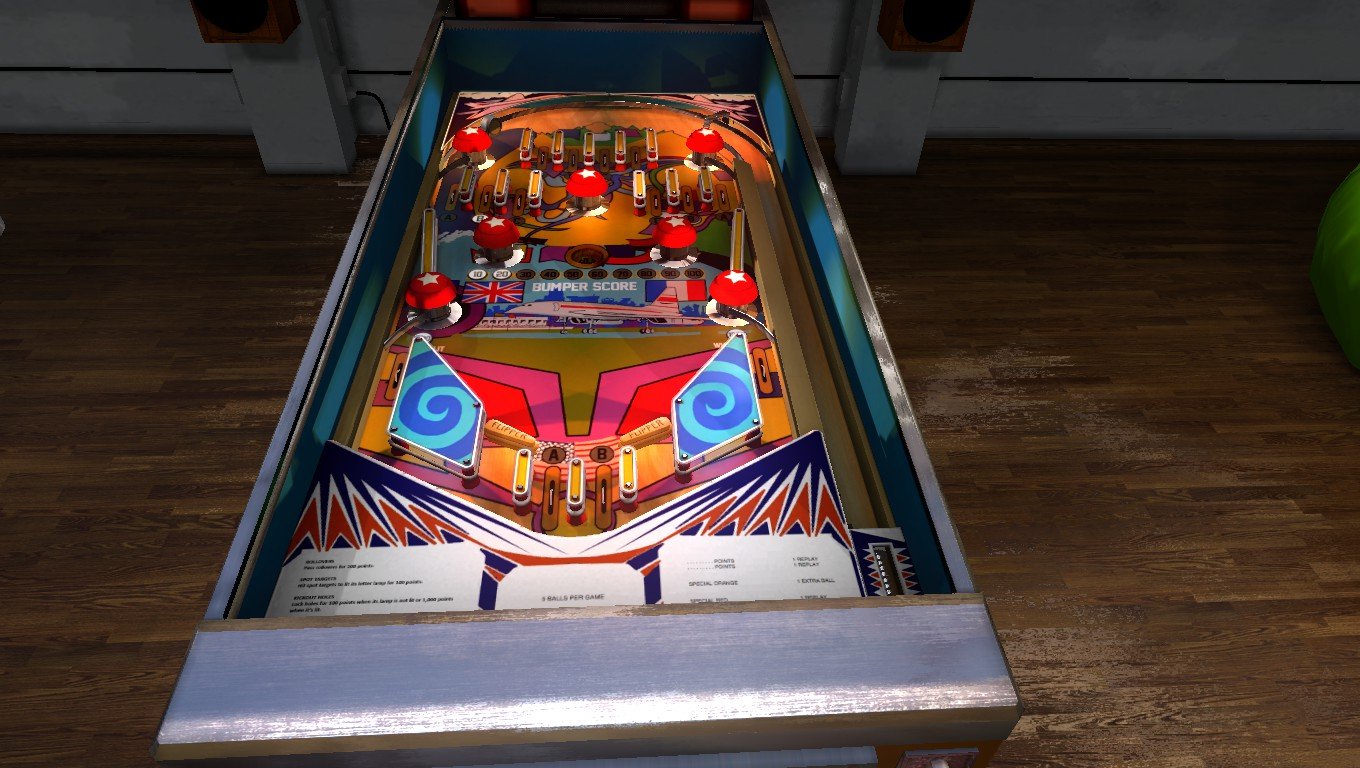 Mark: Zaccaria Pinball: Supersonic 2018 Retro [3 Balls] (PC) 3,060 points on 2018-09-19 03:04:01