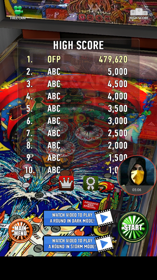 omargeddon: Zaccaria Pinball: Time Machine (Android) 479,620 points on 2018-04-03 00:28:35