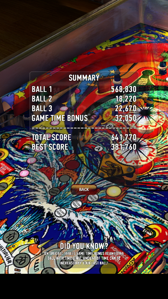 omargeddon: Zaccaria Pinball: Time Machine (Android) 641,770 points on 2018-06-04 01:15:07
