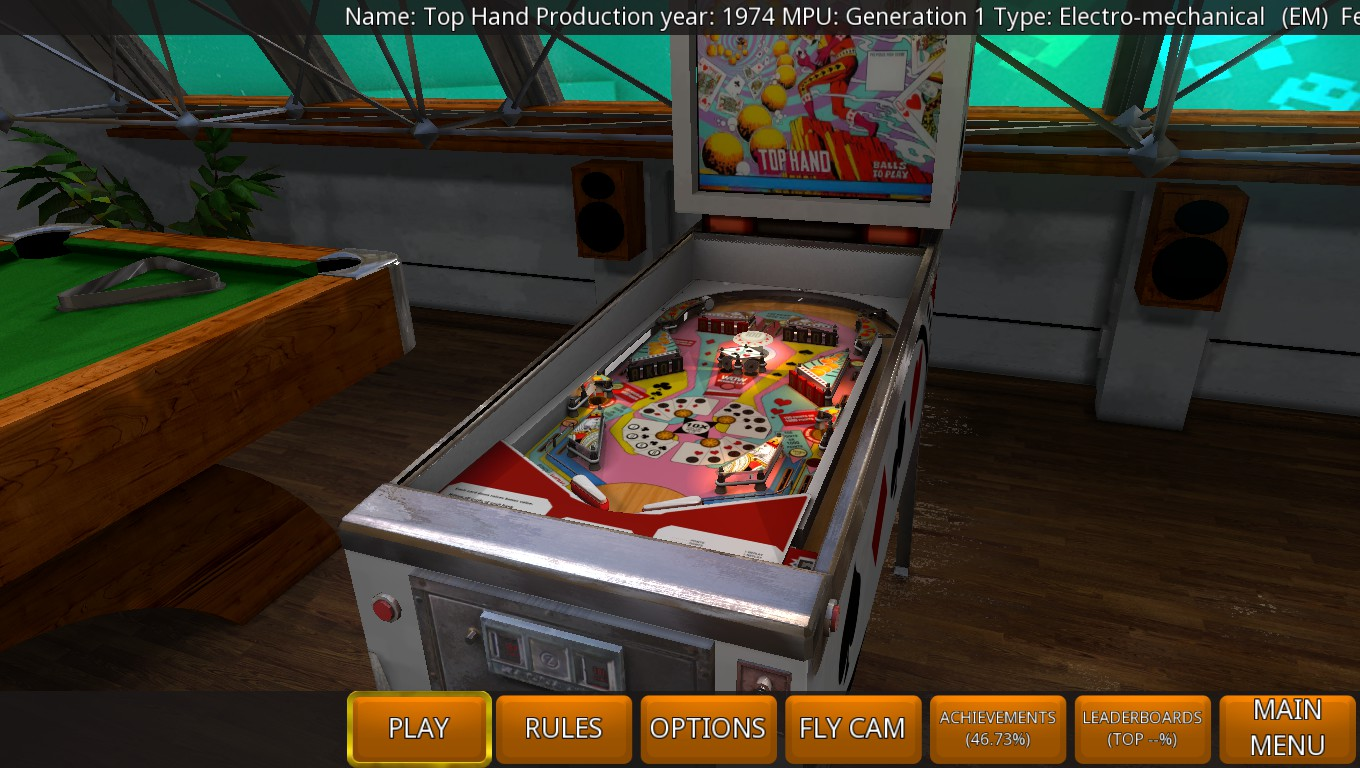 Mark: Zaccaria Pinball: Top Hand [3 Balls] (PC) 32,920 points on 2018-09-16 02:29:36