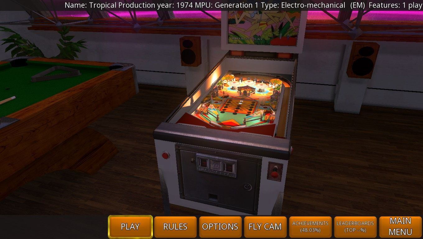 Mark: Zaccaria Pinball: Tropical [5 Balls] (PC) 897,310 points on 2018-09-07 02:28:09