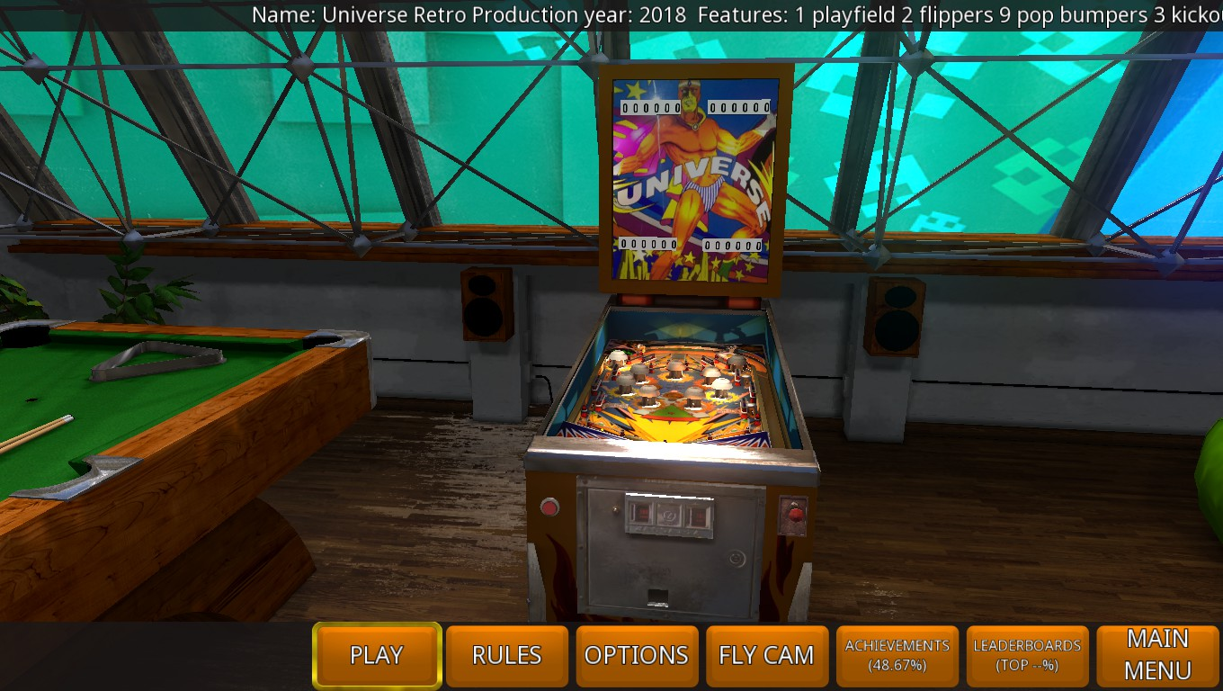 Mark: Zaccaria Pinball: Universe 2018 Retro [3 Balls] (PC) 3,160 points on 2018-09-20 01:14:34