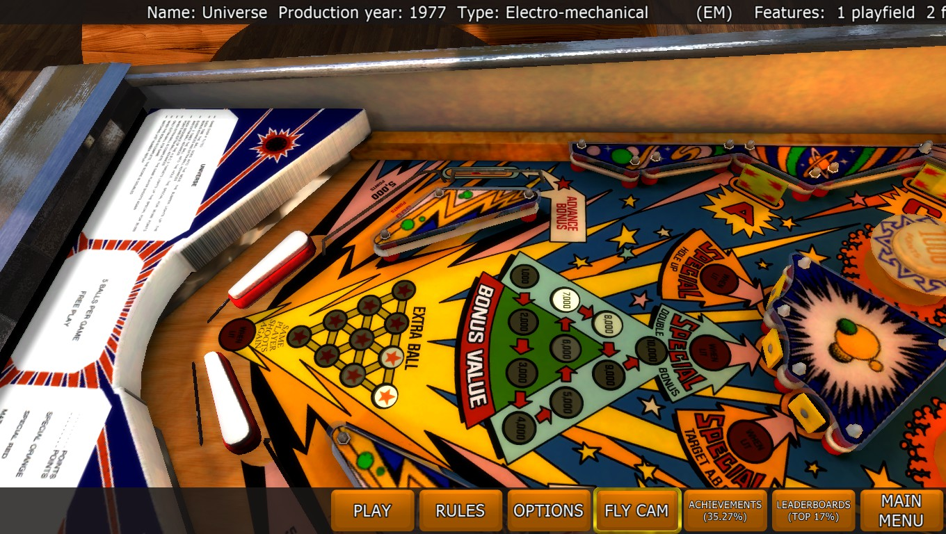 Mark: Zaccaria Pinball: Universe [5 balls] (PC) 379,620 points on 2018-04-23 00:14:51