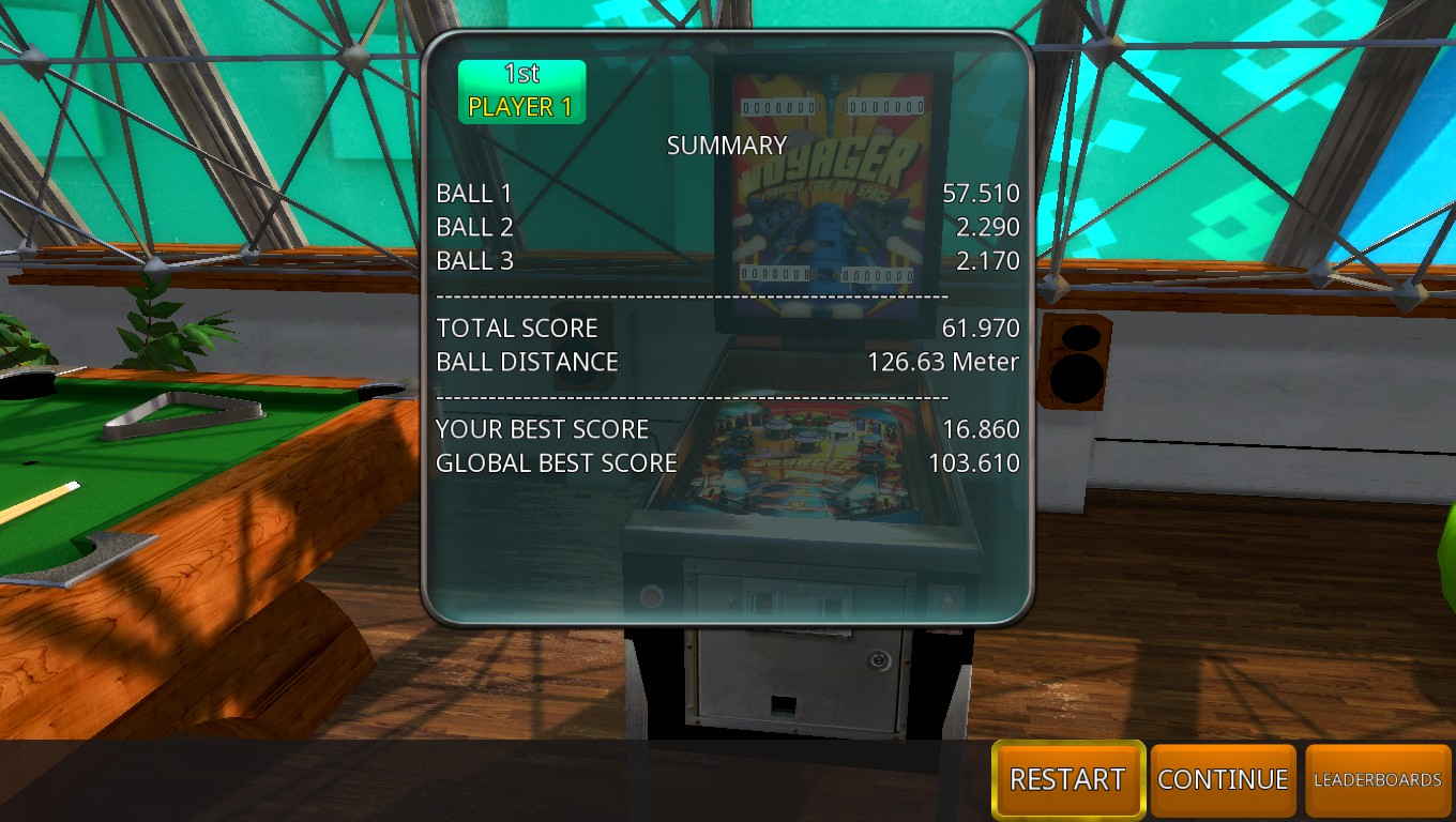 Mark: Zaccaria Pinball: Voyager Through Time And Space [3 Balls] (PC) 61,970 points on 2018-05-19 01:50:52
