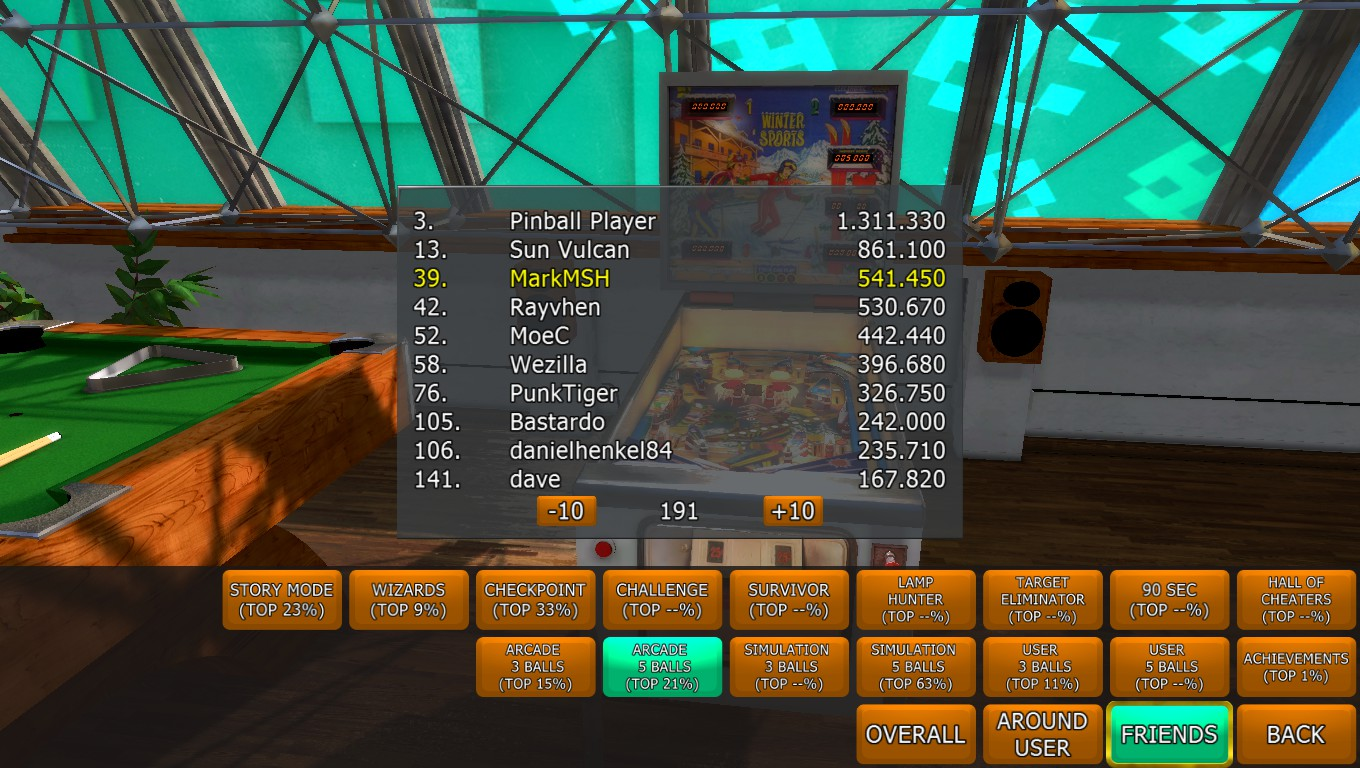 Mark: Zaccaria Pinball: Winter Sports [5 balls] (PC) 541,450 points on 2018-04-18 02:57:00