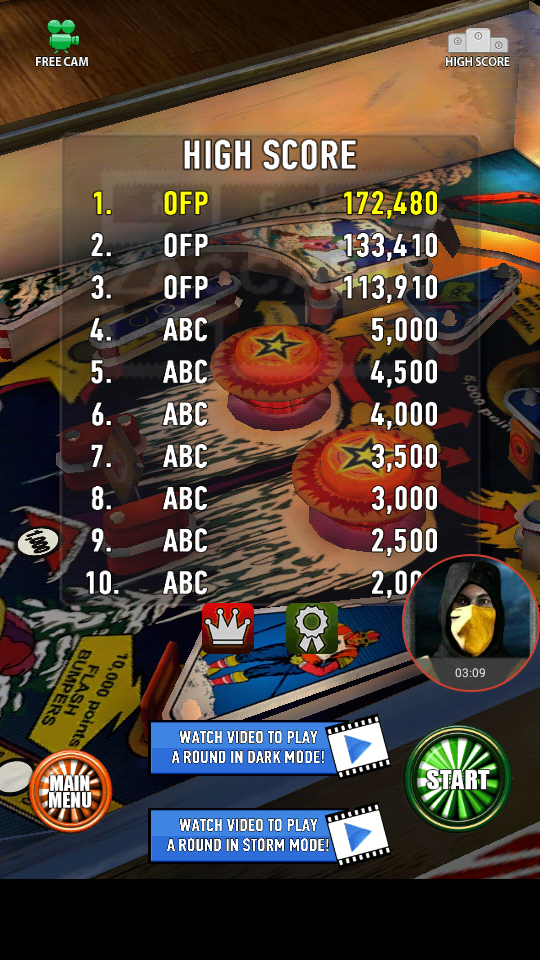 omargeddon: Zaccaria Pinball: Winter Sports (Android) 172,480 points on 2018-04-04 02:13:56