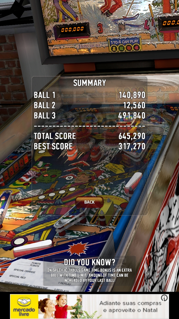 Boegas: Zaccaria Pinball: Winter Sports (Android) 645,290 points on 2018-12-18 06:33:45