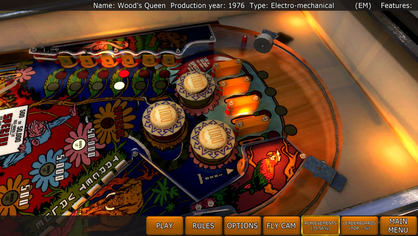 Mark: Zaccaria Pinball: Wood