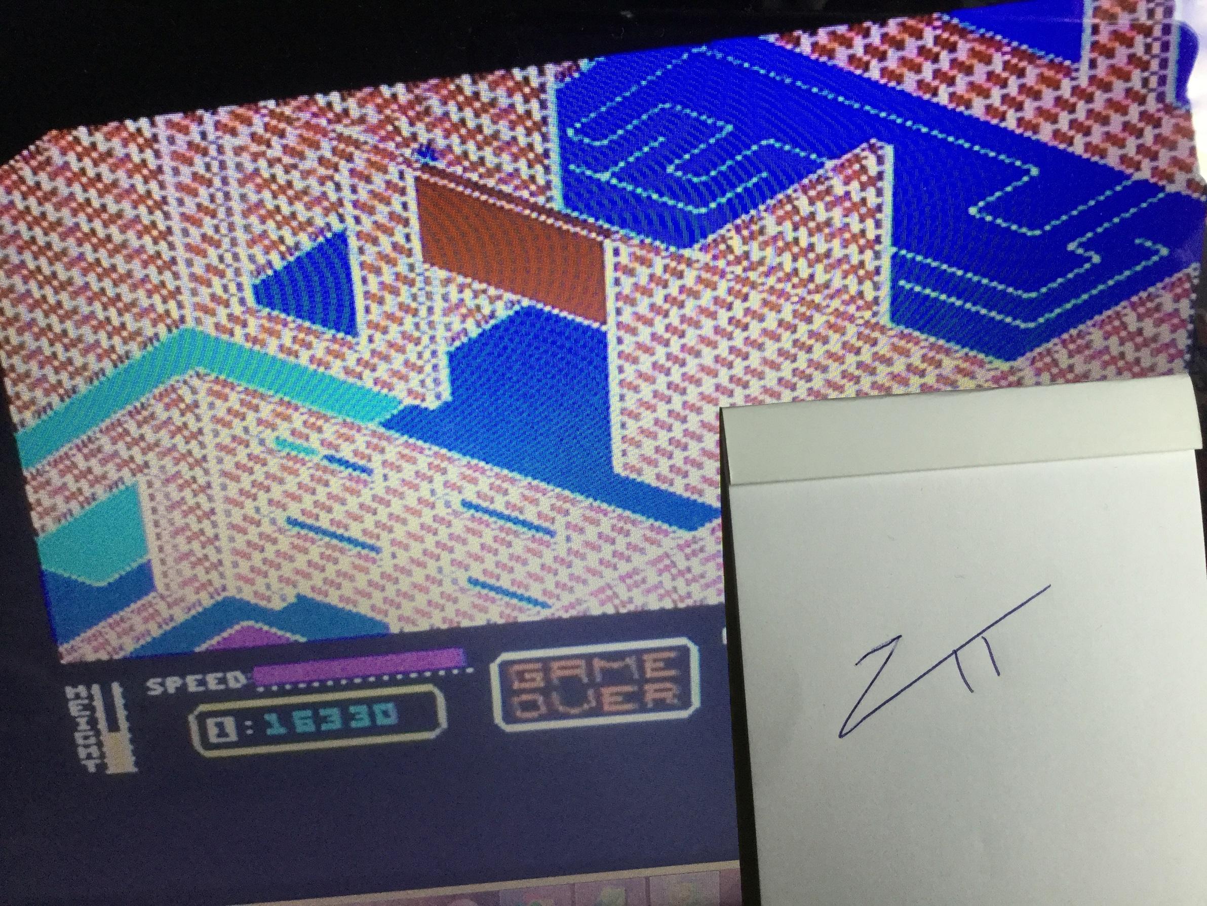 Frankie: Zaga (Commodore 64) 16,330 points on 2021-01-01 04:17:19
