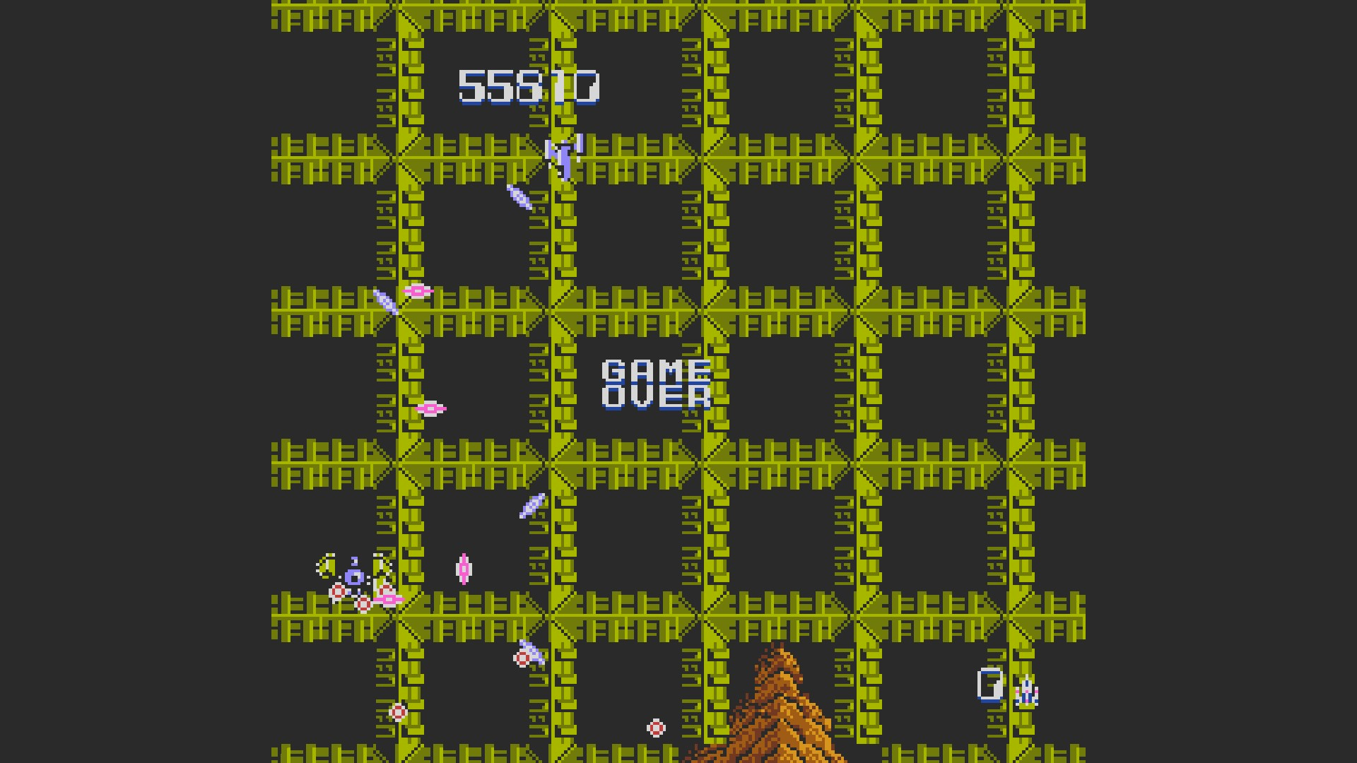 AkinNahtanoj: Zanac (NES/Famicom Emulated) 55,810 points on 2020-09-27 04:10:47