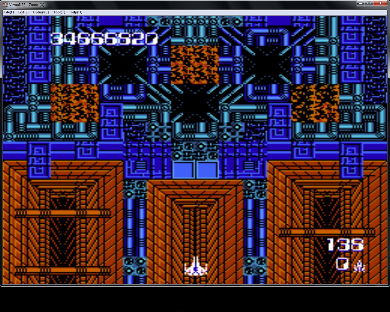 bubufubu: Zanac (NES/Famicom Emulated) 34,666,820 points on 2015-08-13 18:14:52
