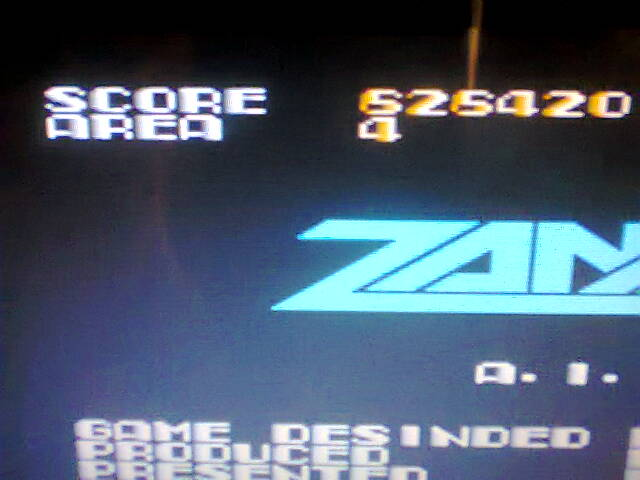 Zanac 626,420 points