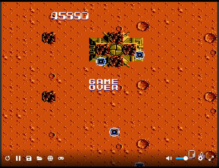 alpha: Zanac (NES/Famicom Emulated) 45,890 points on 2020-04-23 16:15:42