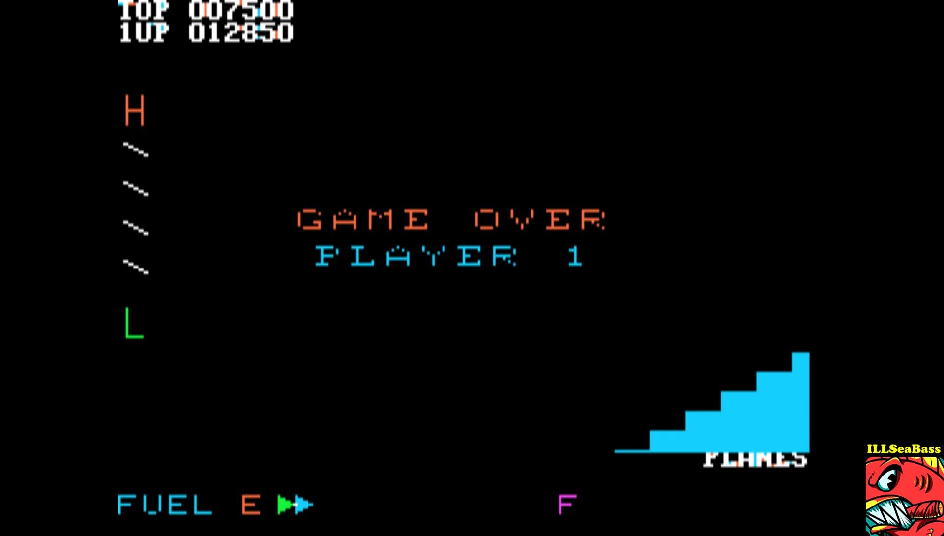 ILLSeaBass: Zaxxon (Apple II Emulated) 12,850 points on 2017-03-07 09:08:59