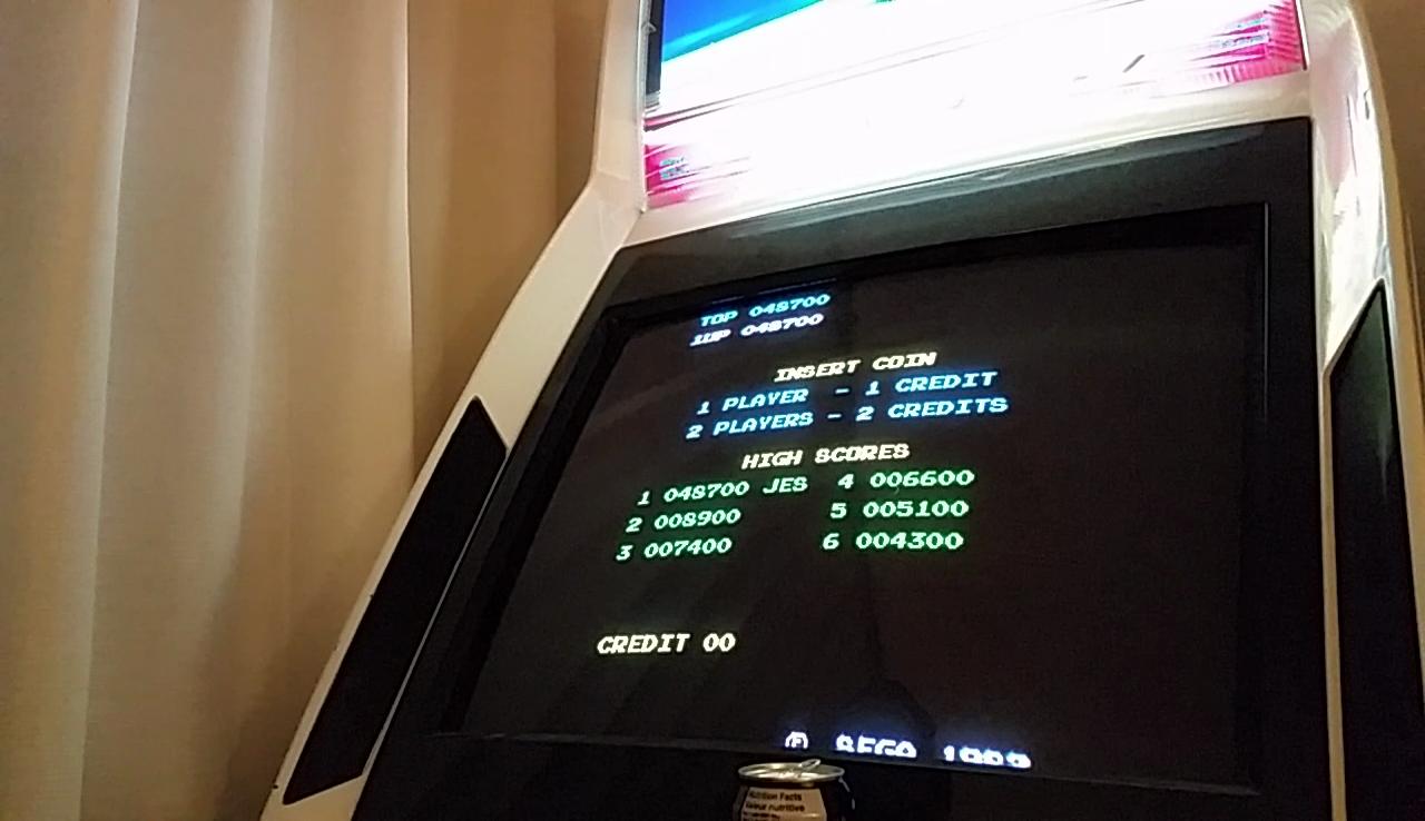 JES: Zaxxon (Arcade Emulated / M.A.M.E.) 48,700 points on 2017-03-07 02:36:40