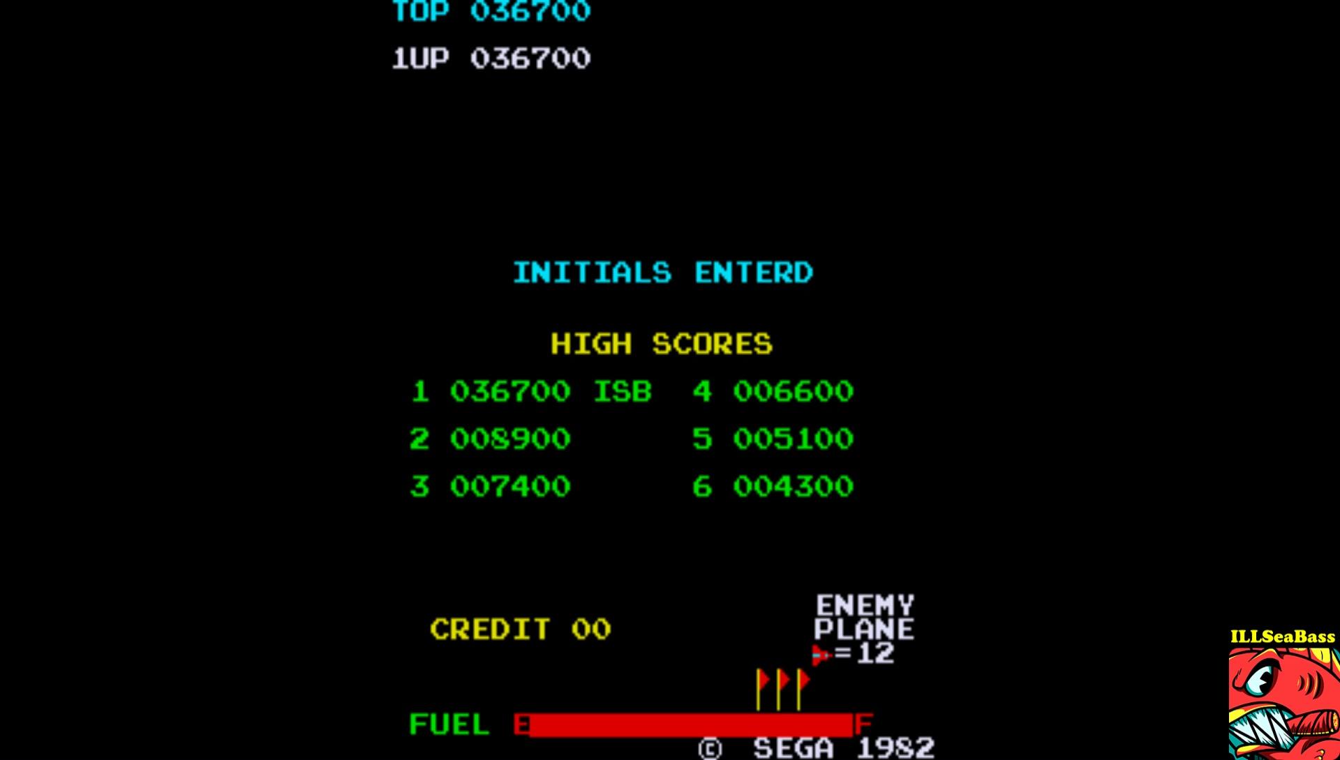 ILLSeaBass: Zaxxon (Arcade Emulated / M.A.M.E.) 36,700 points on 2017-03-07 09:31:08