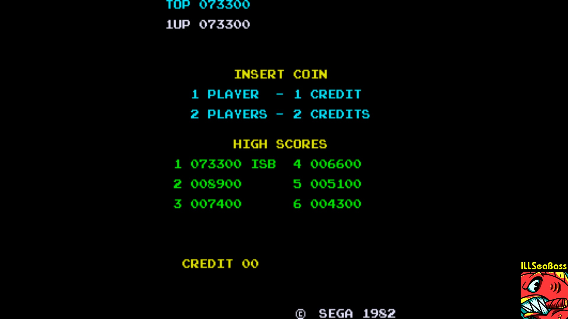 ILLSeaBass: Zaxxon (Arcade Emulated / M.A.M.E.) 73,300 points on 2018-01-26 20:43:47