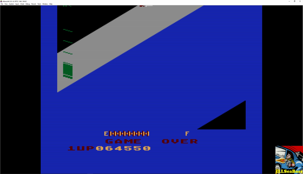 ILLSeaBass: Zaxxon (Atari 400/800/XL/XE Emulated) 64,550 points on 2016-12-27 21:33:42