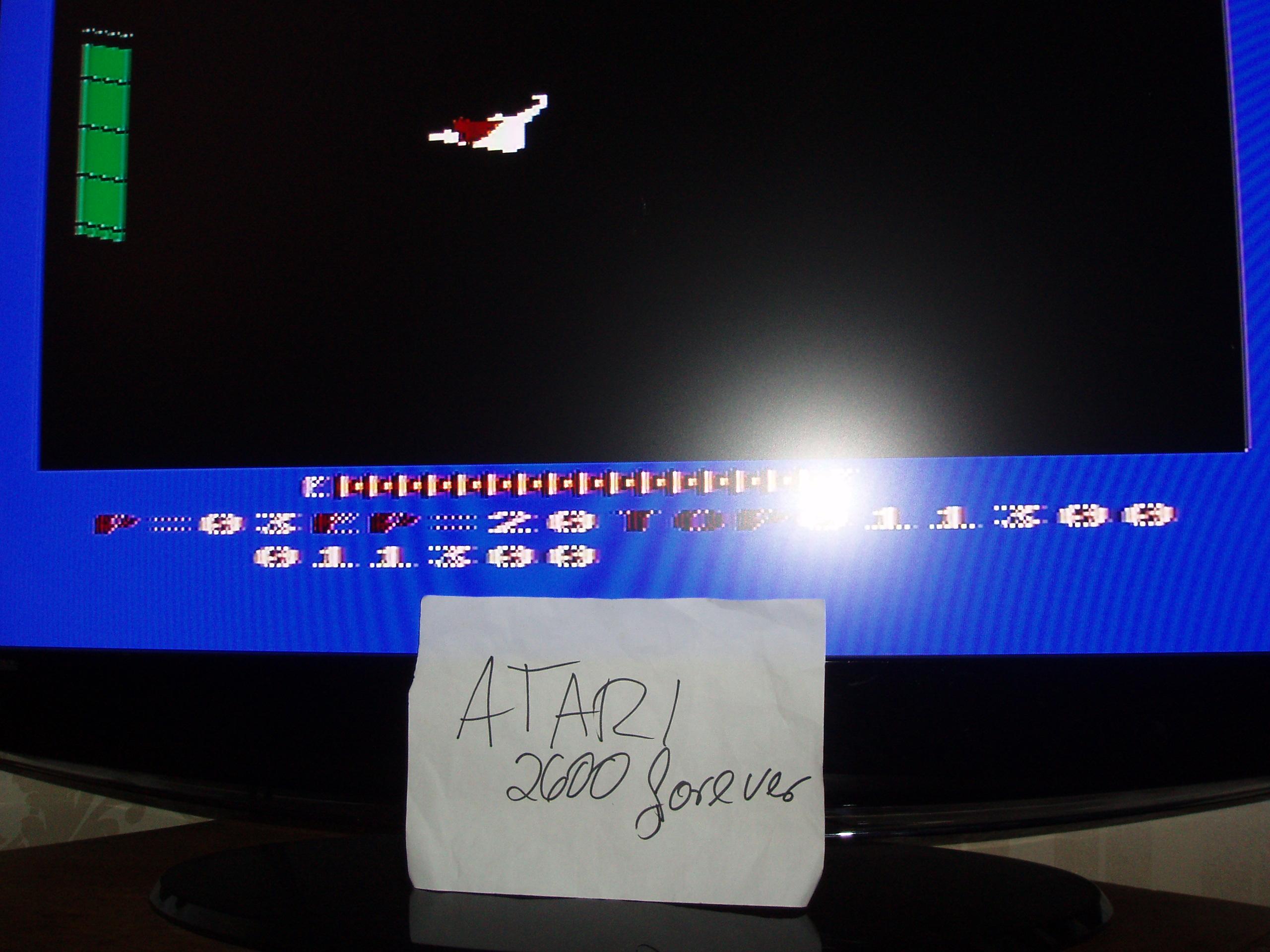 atari2600forever: Zaxxon (Atari 5200) 11,300 points on 2019-02-23 05:17:46