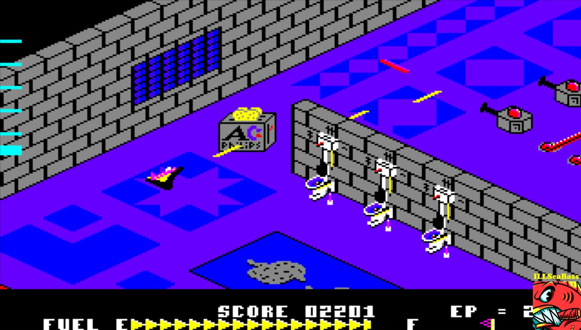 ILLSeaBass: Zaxxon [Bignonia] (Amiga Emulated) 2,654 points on 2017-03-07 19:07:08