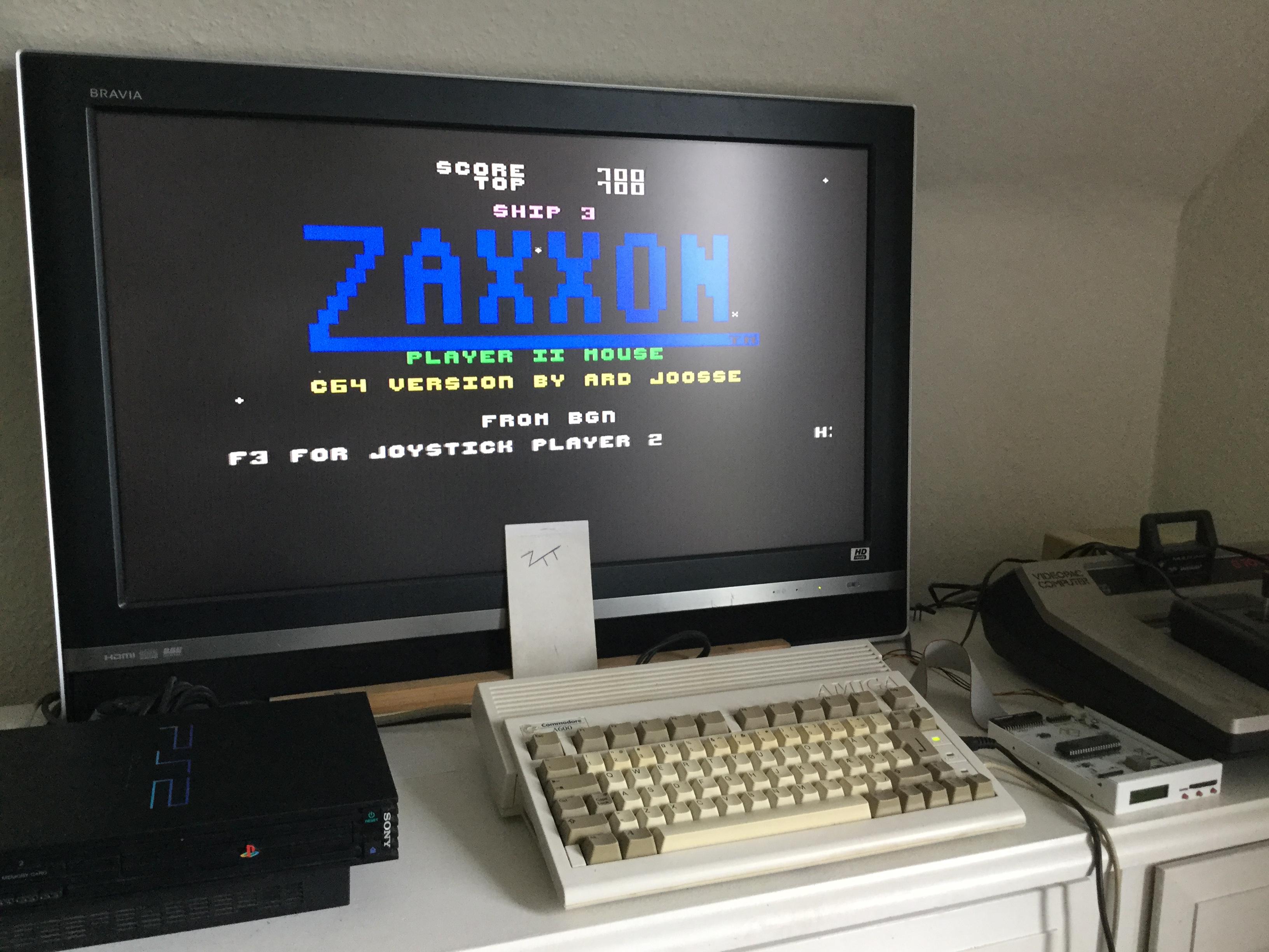 Frankie: Zaxxon [Bignonia] (Amiga) 700 points on 2017-10-19 05:51:40