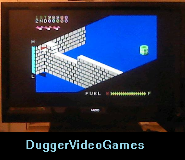 DuggerVideoGames: Zaxxon (Colecovision Flashback) 98,900 points on 2016-03-29 03:12:48