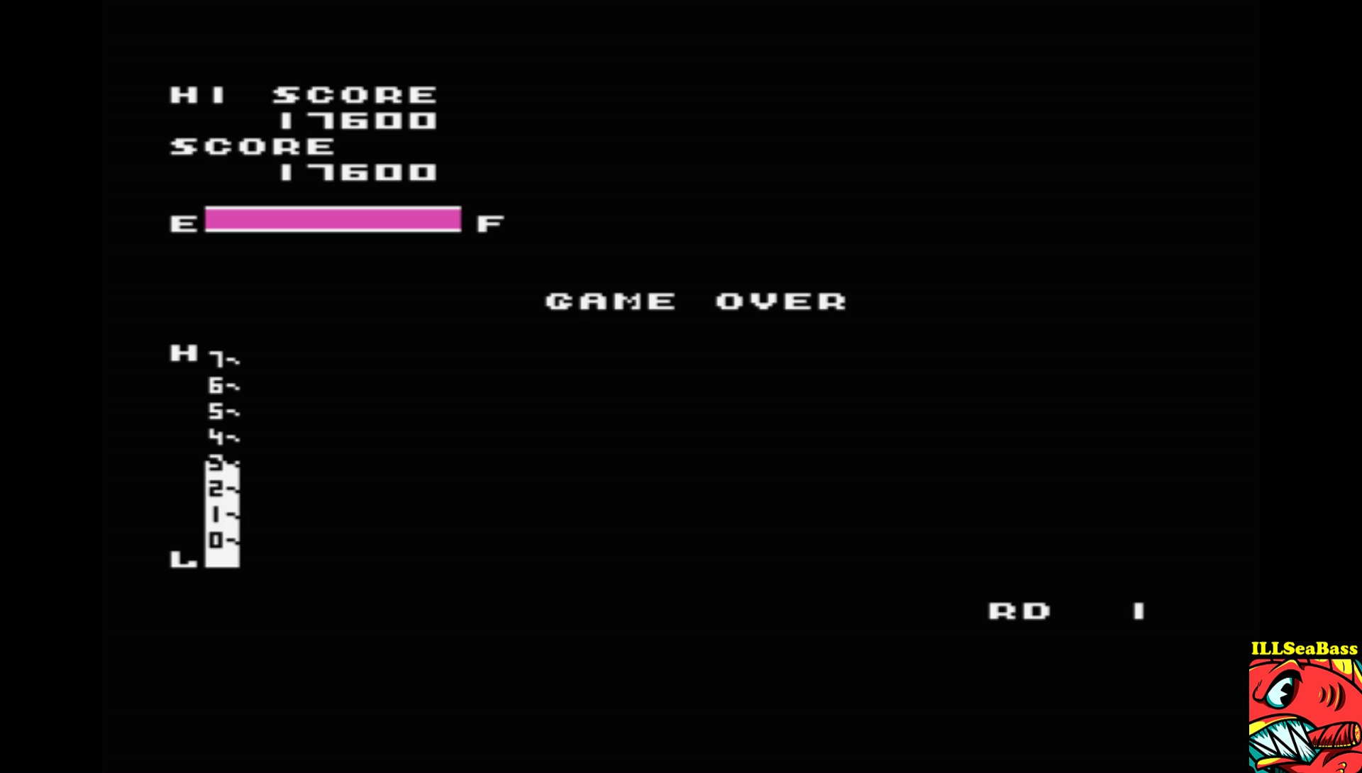 ILLSeaBass: Zaxxon (MSX Emulated) 17,600 points on 2017-07-22 18:43:21