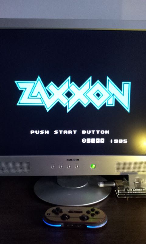 Larquey: Zaxxon (Sega SG-1000 Emulated) 32,850 points on 2017-02-13 08:48:01