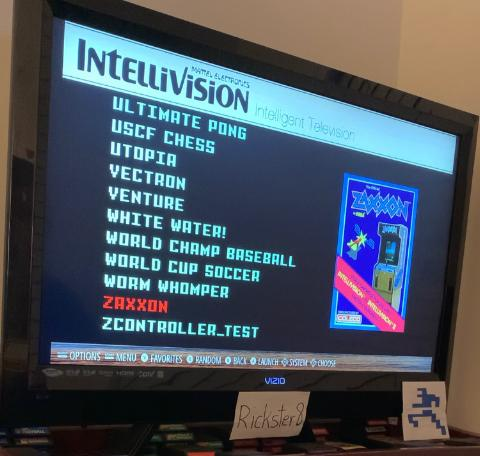 Rickster8: Zaxxon: Skill 1 (Intellivision Emulated) 32,000 points on 2021-02-12 12:16:03