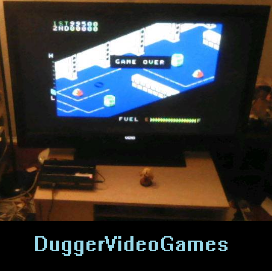 DuggerVideoGames: Zaxxon: Skill 2 (Colecovision Flashback) 99,500 points on 2016-04-08 02:10:39