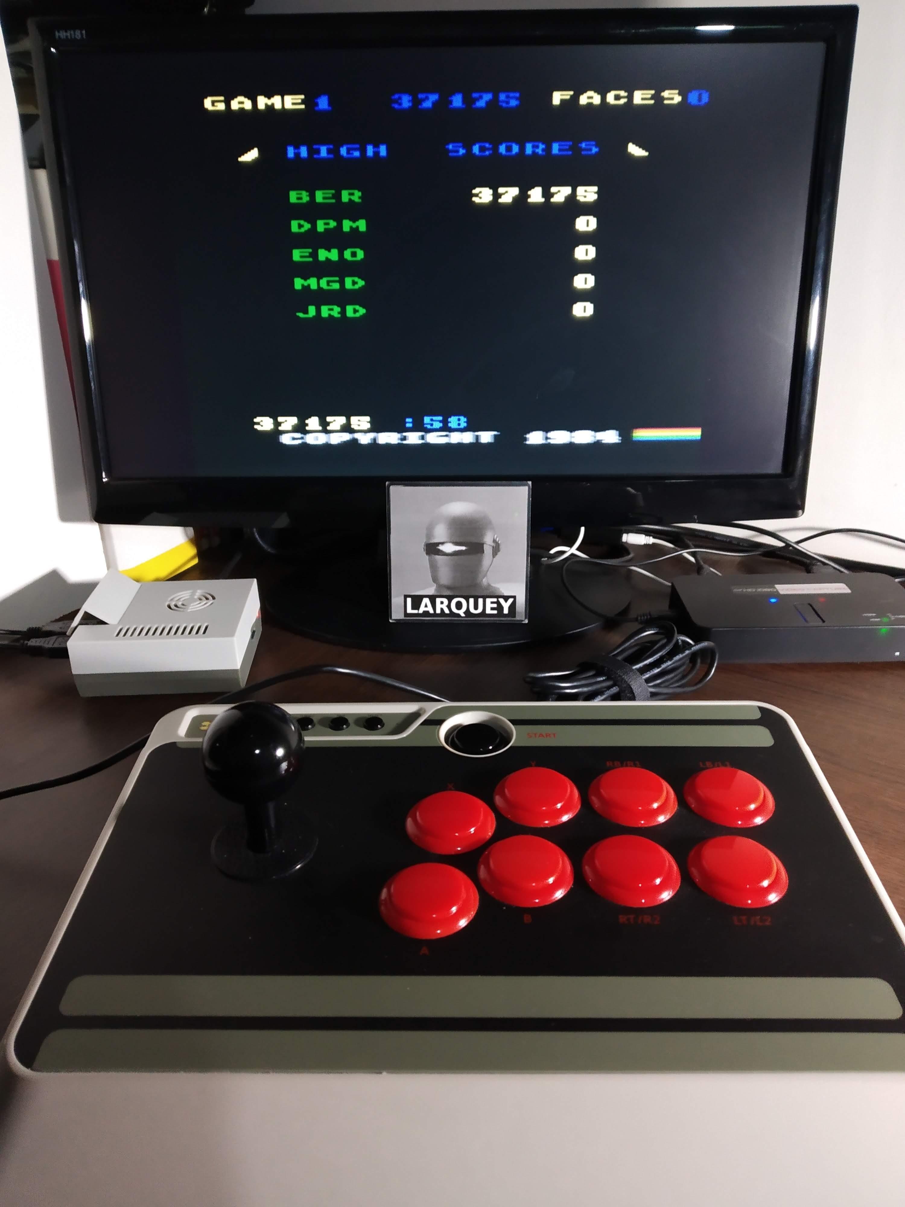 Larquey: Zenji: Game 1 (Atari 5200 Emulated) 37,175 points on 2019-11-13 00:29:48
