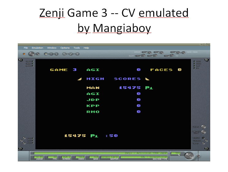 Zenji: Game 3 15,475 points