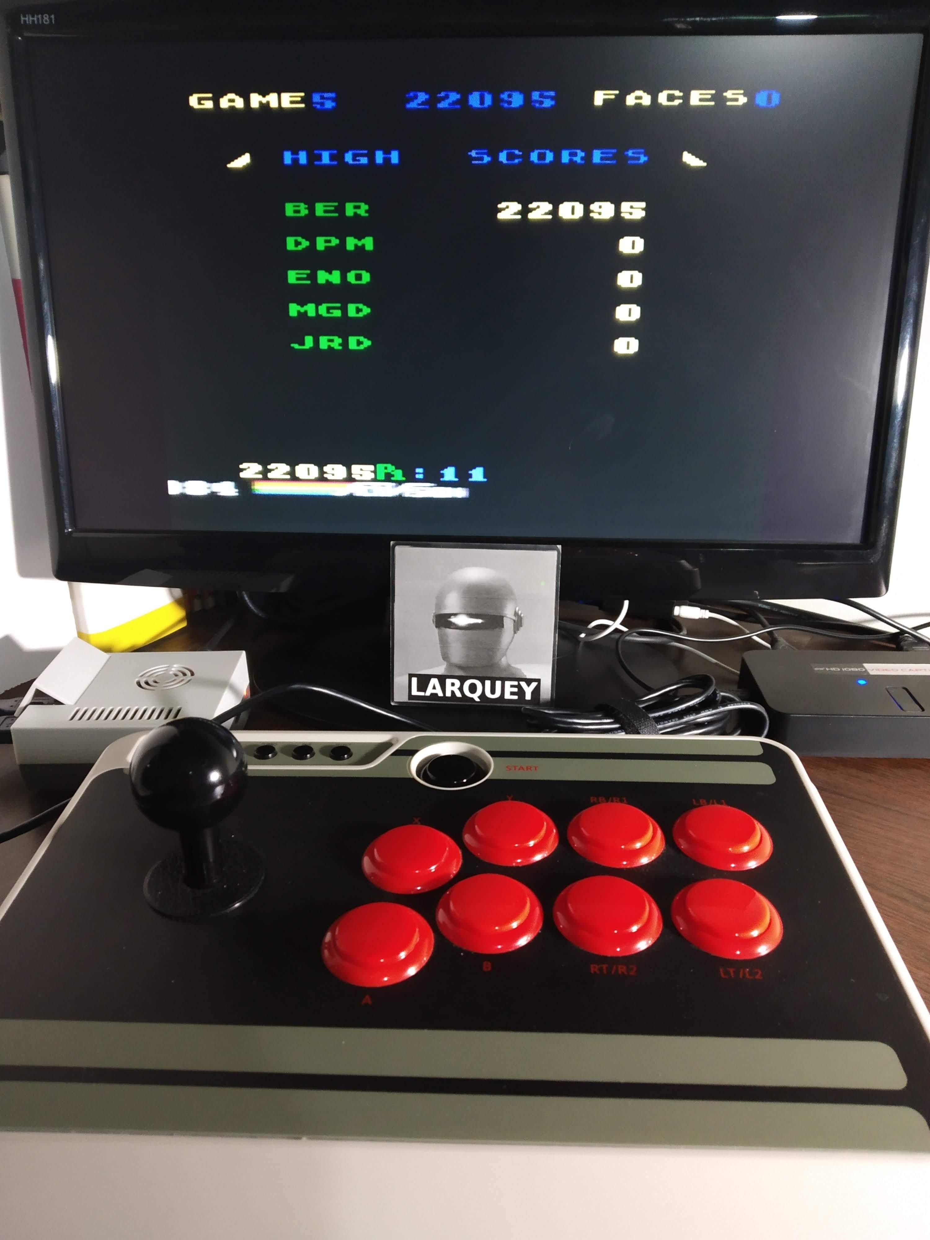 Larquey: Zenji: Game 5 (Atari 5200 Emulated) 22,095 points on 2019-11-13 13:12:21