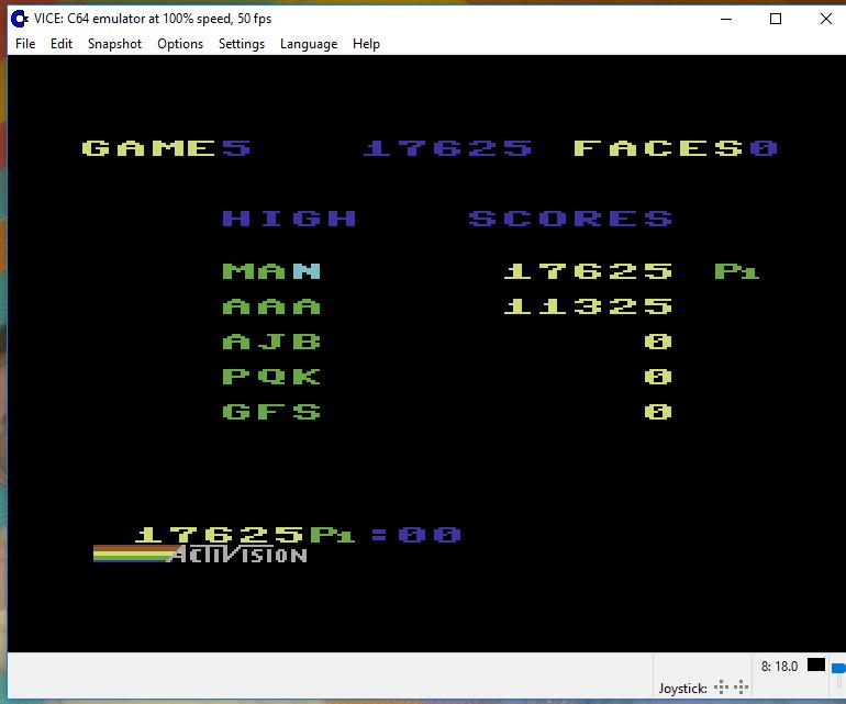 Zenji: Game 5 17,625 points